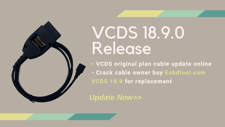 VCDS 18 9 Download Free for Ross Tech VCDS 18 9 VAG COM Cables