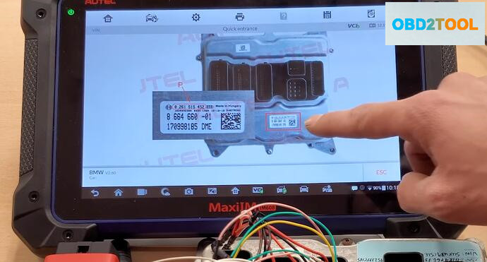 How-to-Use-Autel-G-Box2-Read-ISN-Code-for-BMW-N20-DME-3